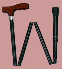 picture of folding cane